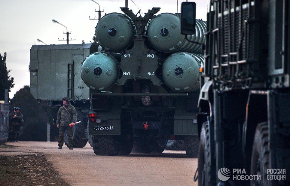 Анкара закупит у Москвы зенитные ракетные комплексы С-400