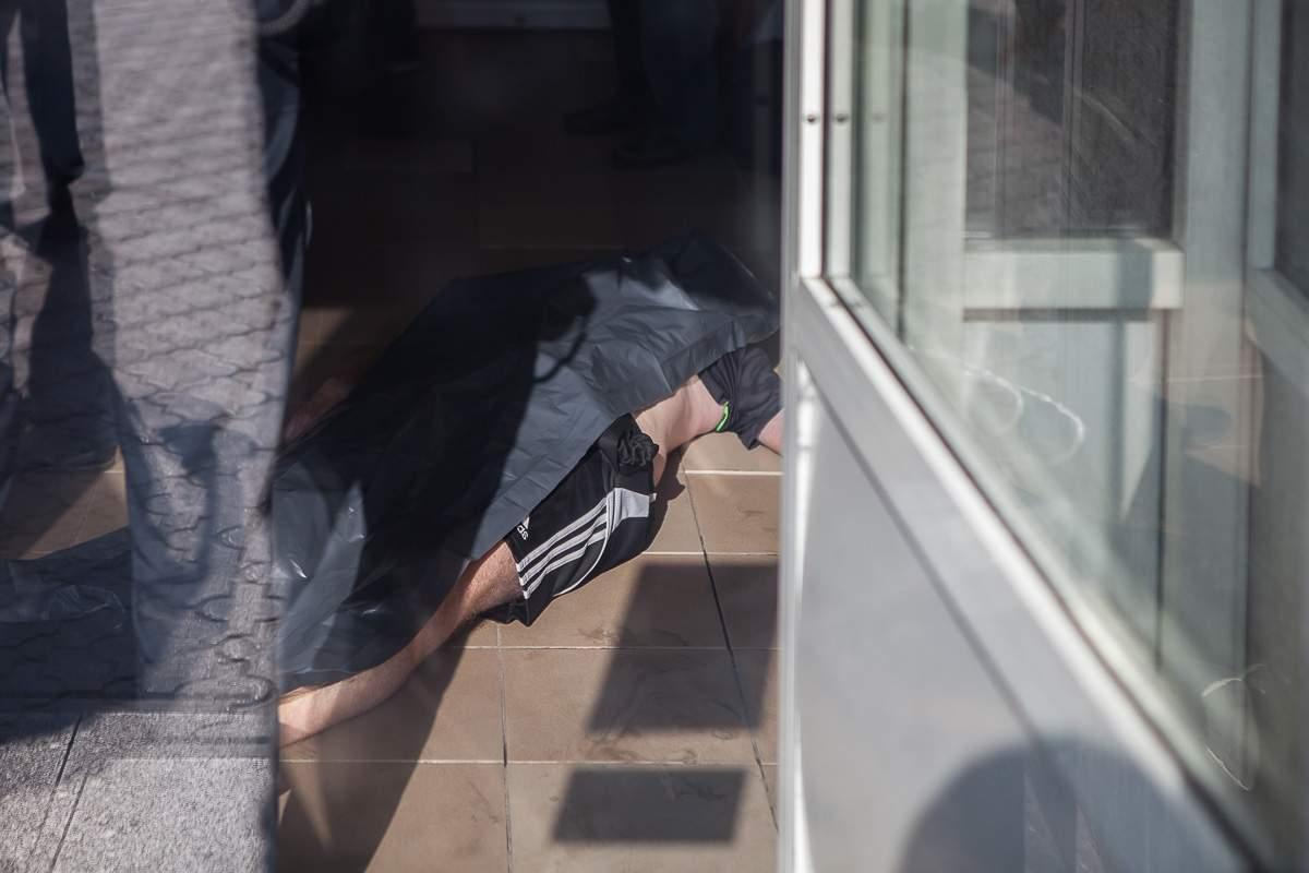 В Днепре неизвестный зарезал мужчину в супермаркете