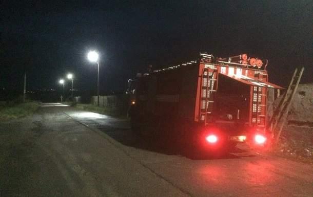 В Николаевской области на площади 500 кв. м горел мусорный полигон