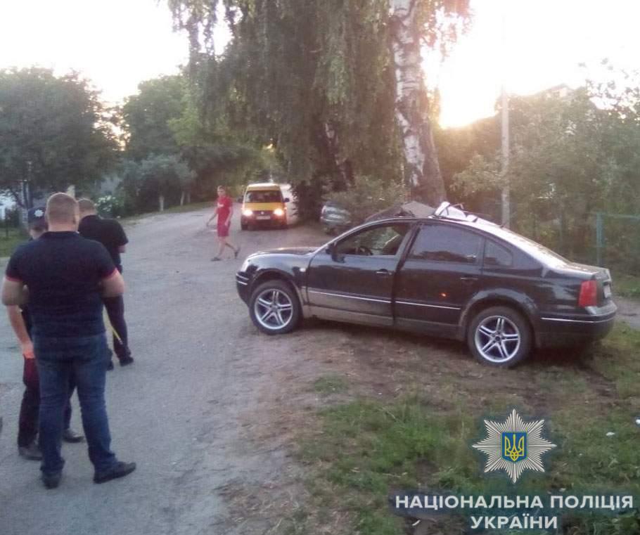 В Ровенской области произошло ДТП, в котором пострадали шесть детей