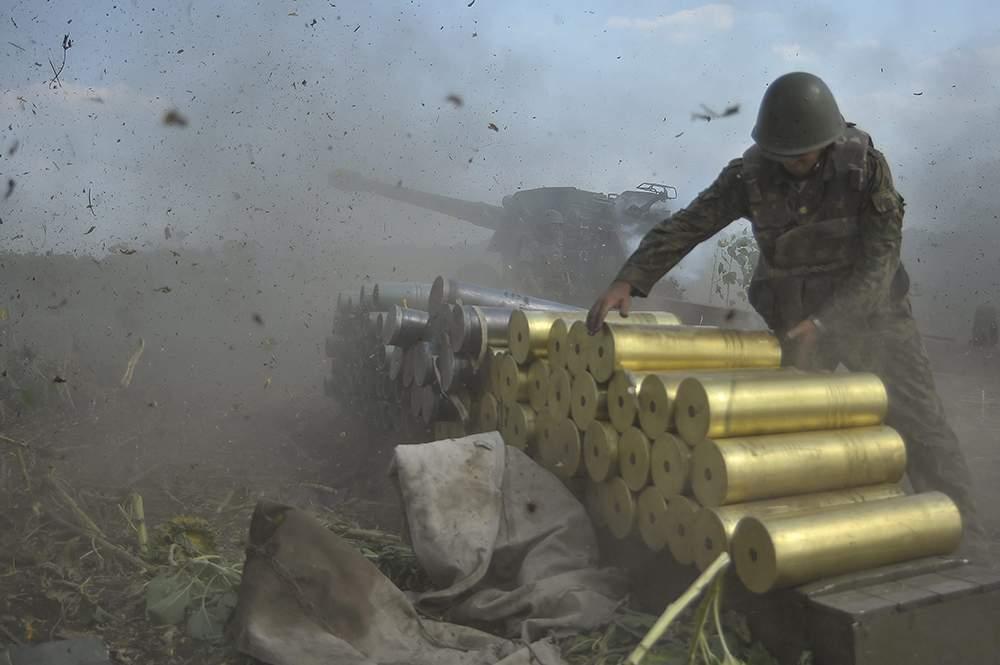 На Донбассе ранение получили 2 украинских солдата ВСУ
