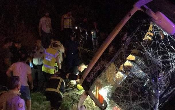 В Турции автобус с туристами попал в ДТП, пострадали 45 человек