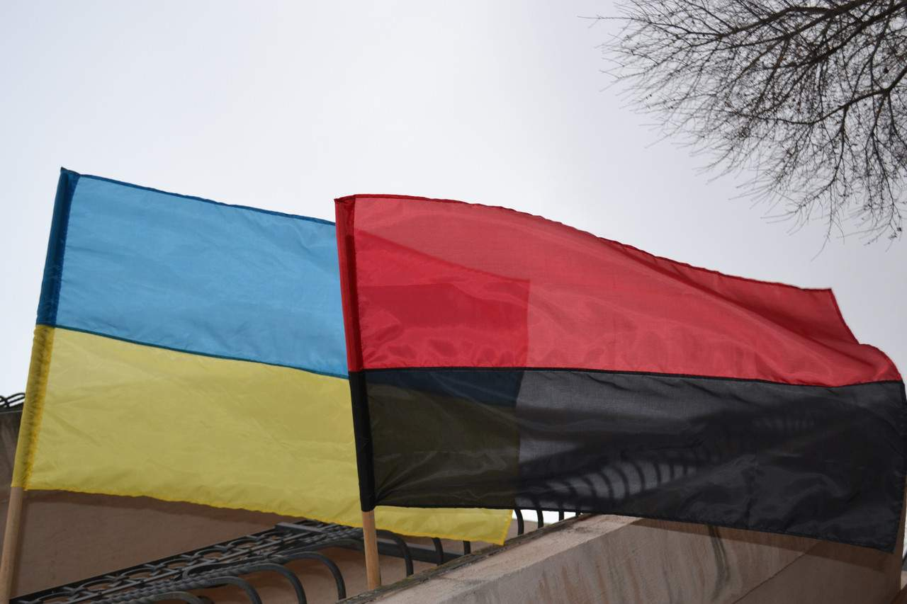 В Сумах наравне с государственным будут поднимать флаг ОУН-УПА