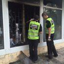 В Киеве вспыхнул пожар в отделении банка: полиция устанавливает причины возгорания (фото)