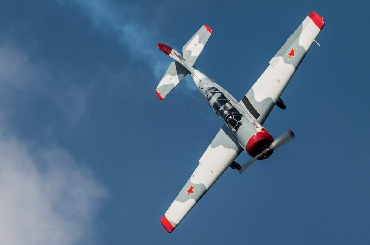 В Литве потерпел крушения тренировочный самолет