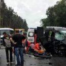 Во Львовской области на автодороге произошло ДТП, один человек погиб и 8 травмированы