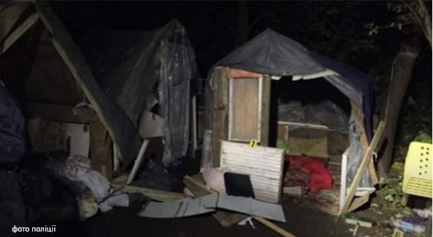 Во Львове полиция задержала 9 школьников, которые участвовали в погроме лагеря ромов