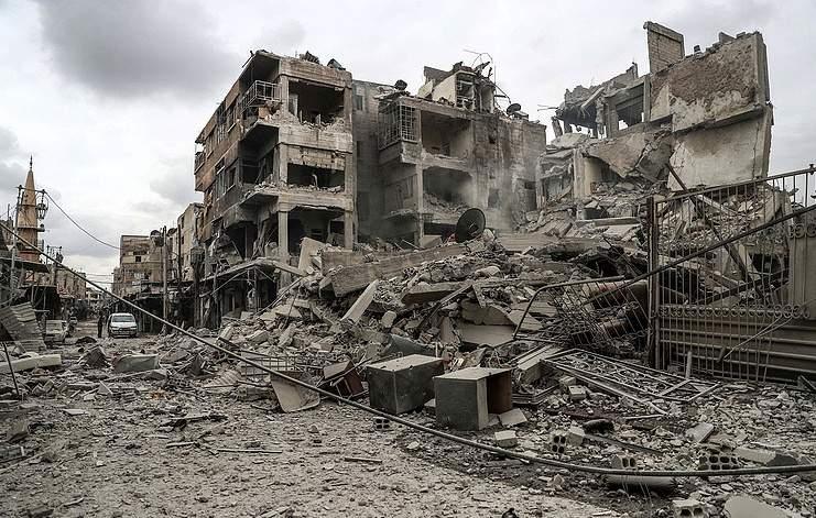 В Сирии две израильские ракеты поразили склад оружия