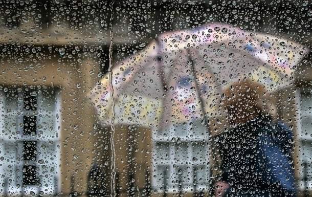 В большинстве регионов Украины ожидается ухудшение погодных условий