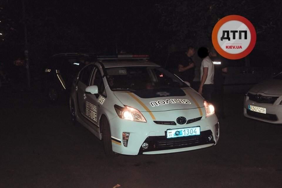 В Киеве словесная перепалка между мужчинами закончилась стрельбой (фото)