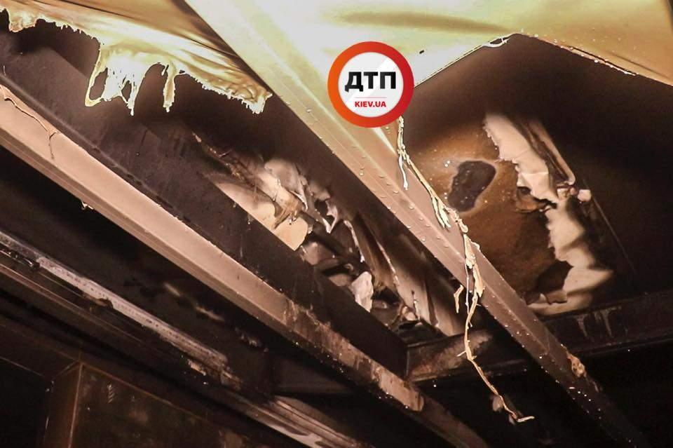 В Киеве сгорел ресторан бразильской кухни (фото)