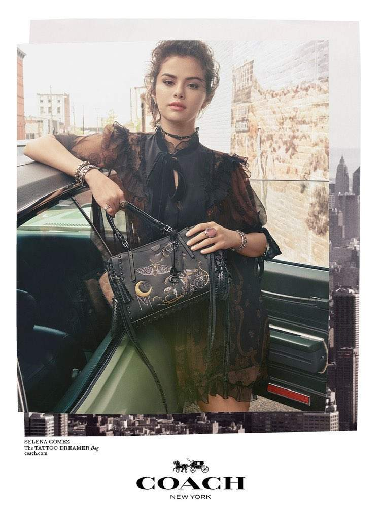 Селена Гомез снялась в новой фотосессии для модного бренда (фото)