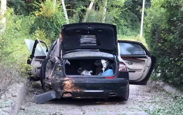 В Харькове взорвался автомобиль гендиректора фармацевтической компании