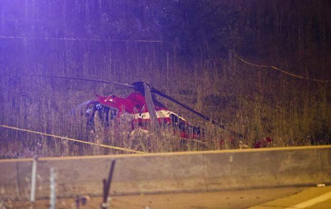 В США потерпел крушение эвакуационный вертолет, пострадали четыре человека