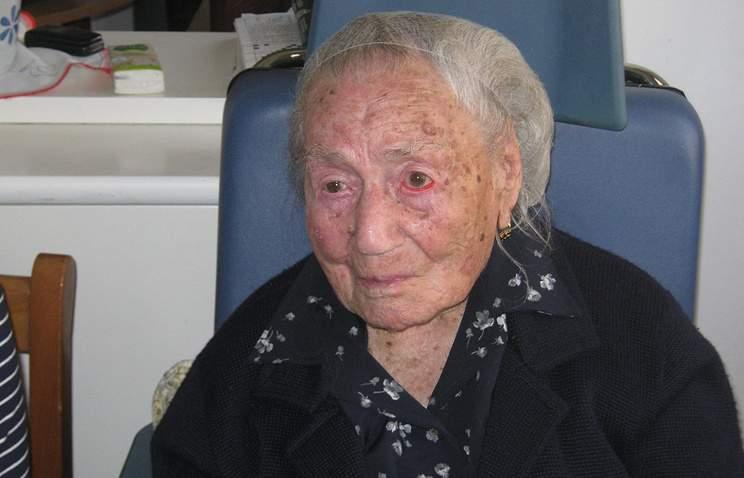Самая пожилая жительница Европы скончалась на 117-ом году жизни
