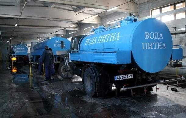 Чиновники заявляют, что в Киеве проблем с питьевой водой не будет