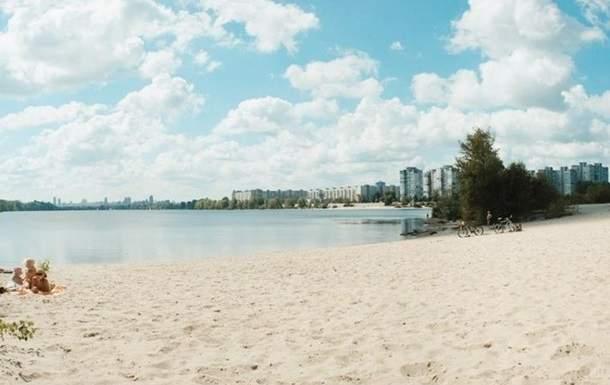 В Киеве все пляжи не соответствуют норме