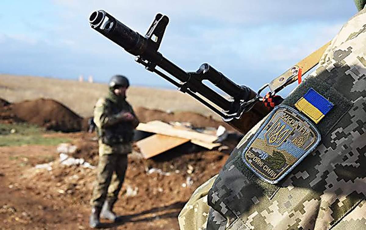 На Донбассе понесли потери вражеские войска