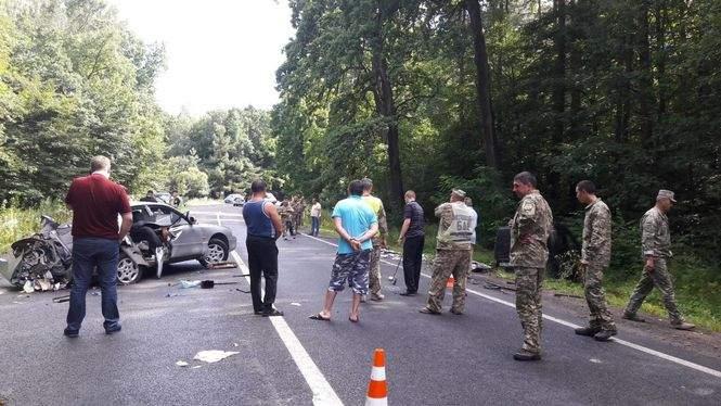 На Львовщине офицер устроил смертельное ДТП. Погибли военнослужащие
