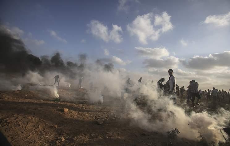 По территории Израиля из Сектора Газа было выпущено не менее 55 ракет