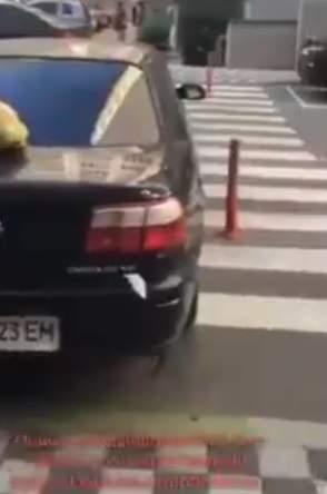 «Мне охрана разрешила»: В столице заметили очередного умельца парковки (видео)