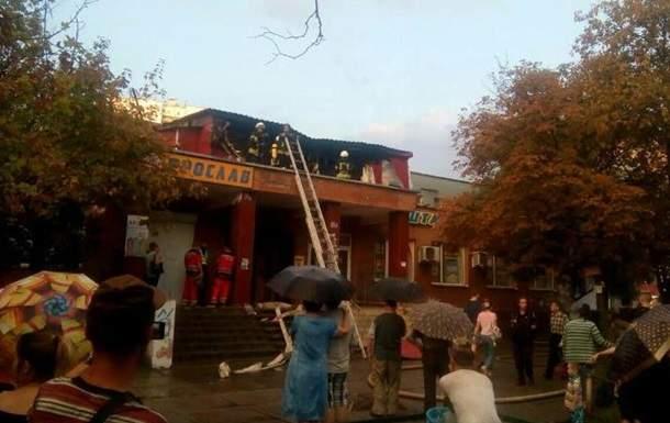 В Киеве в результате пожара в одном из хостелов пострадали шесть человек
