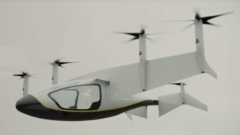 Достигли пятого элемента: Производитель Rolls Royce представил летающее такси