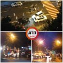В Киеве легковушка сбила женщину на пешеходном переходе