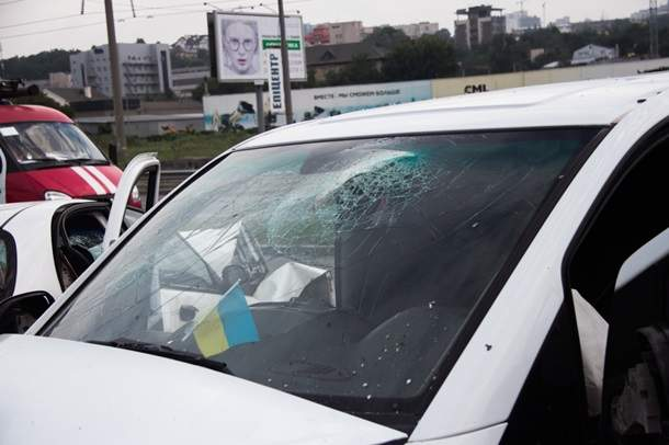В Киеве столкнулись
