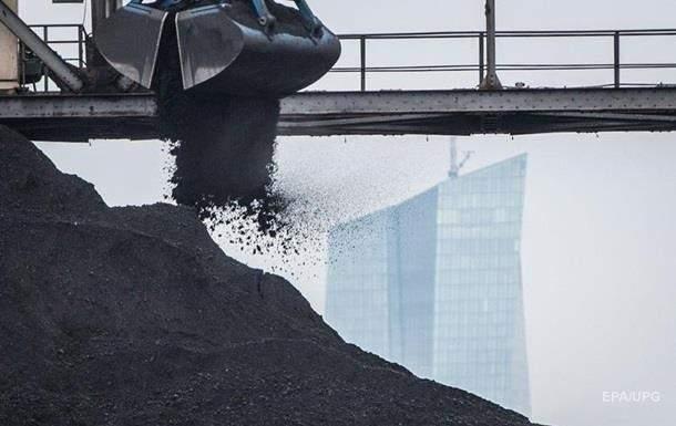 В Украине снова снизилась добыча угля