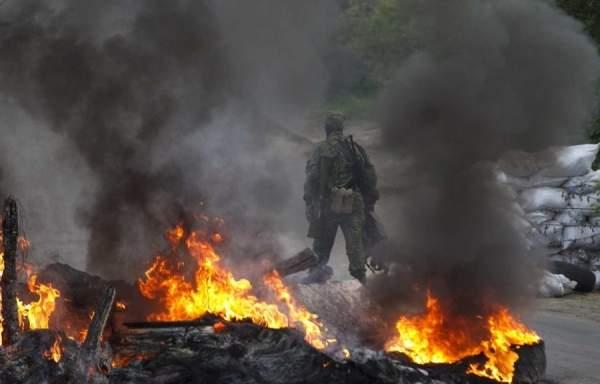 На Донбассе в результате боевых действий один украинский военный получил ранение