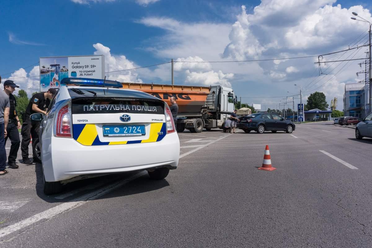 В Днепре в ДТП попала заммэра Яника Мерило (фото)