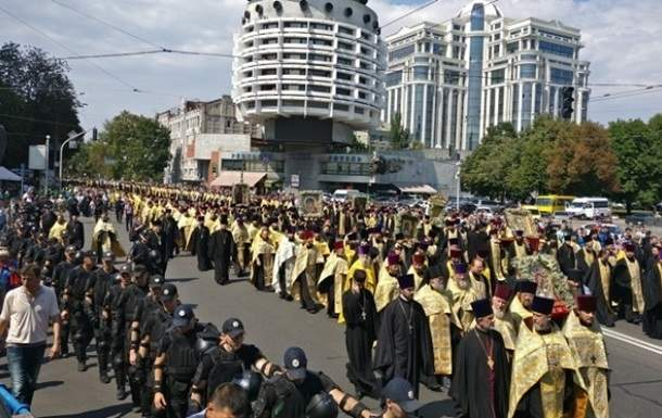 В Киеве в крестном ходе примут участие 200 тысяч мирян