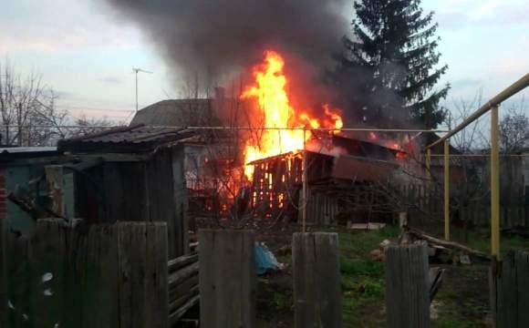 В Волынской области нетрезвый мужчина подпалил собственный сарай