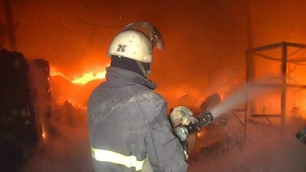 Во Львове сгорел ресторан
