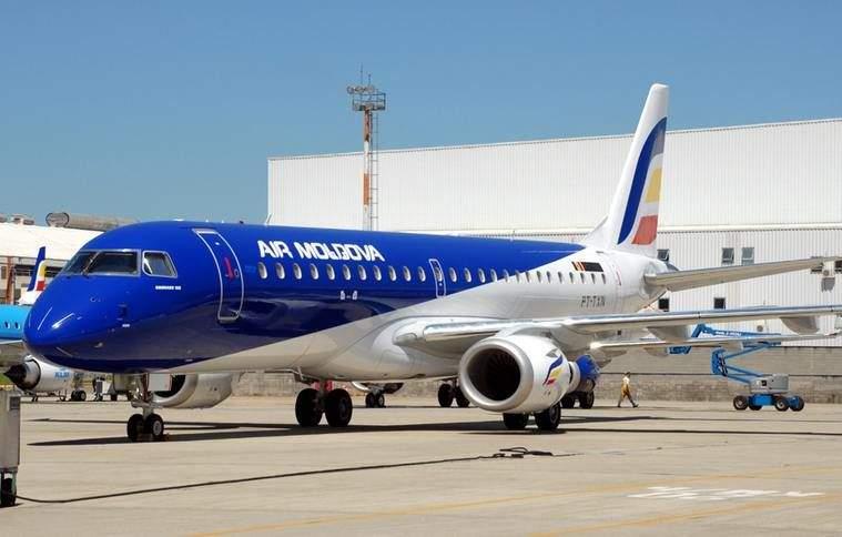 Над Одесской областью в молдавский пассажирский самолет ударила молния