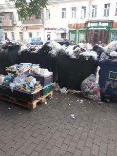 Жители Одессы жалуются на так называемую «утилизацию» продуктов из АТБ в контейнеры в жилых массивах (фото)