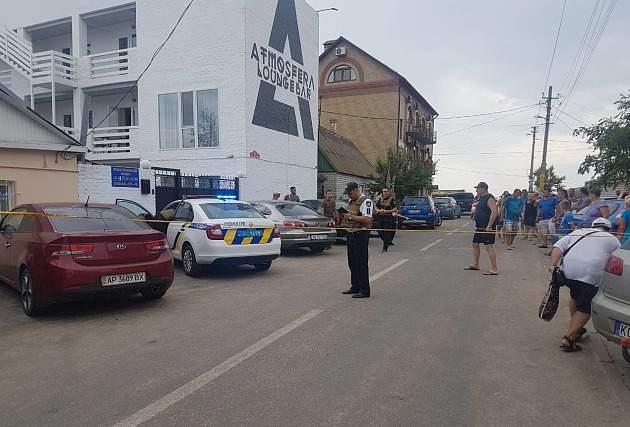 В Бердянске расстреляли атошника с позывным