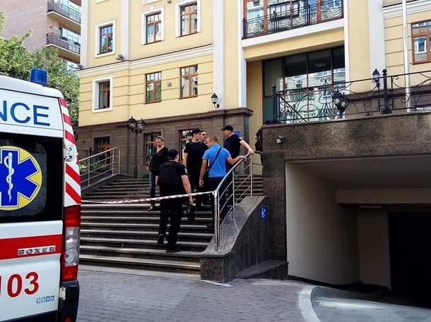 В Киеве из-за сообщения о минировании эвакуировали Высший совет правосудия (фото)