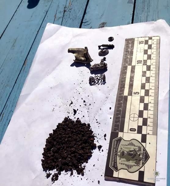 На Харьковщине неизвестные бросили гранату во двор фермера (фото)
