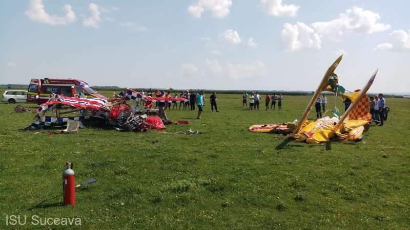 В Румынии столкнулись два самолета: один из пилотов погиб
