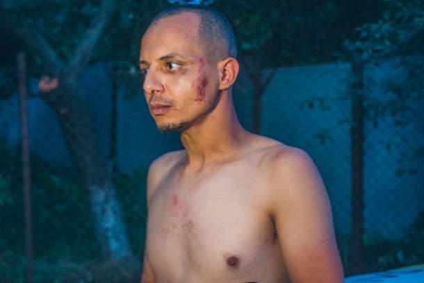 В Киеве во время погони египтянин протаранил