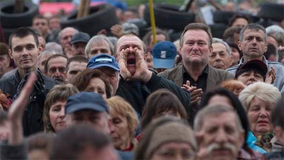 Киевляне устроили акцию протеста из-за затопления ценного археологического участка
