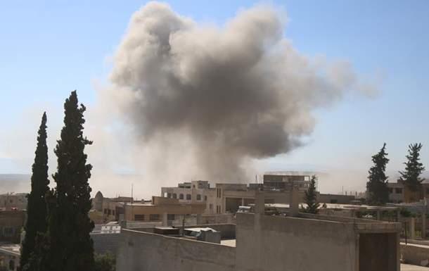 В результате авиаударов в Идлибе погибли десятки людей