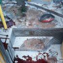 В Кривом Роге в результате мощного взрыва пострадали пассажиры маршрутки