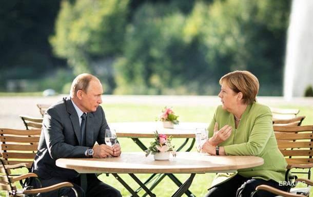 В ходе встречи Меркель и Путин говорили о ситуации в Украине