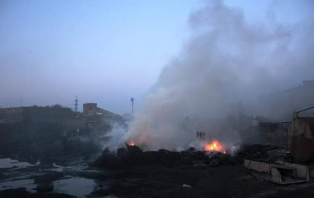 В Запорожье произошел масштабный пожар: Горело предприятие