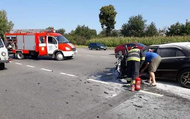 На Львовщине произошла масштабная авария с участием автобуса. Есть пострадавшие