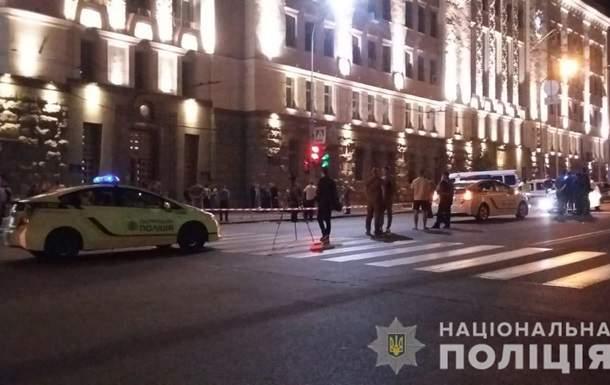 В центре Харькова неизвестный открыл огонь по полицейским. Есть погибшие