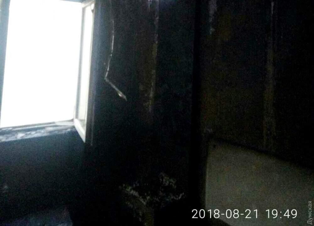 В Одессе произошел серьёзный пожар в гостиничном комплексе